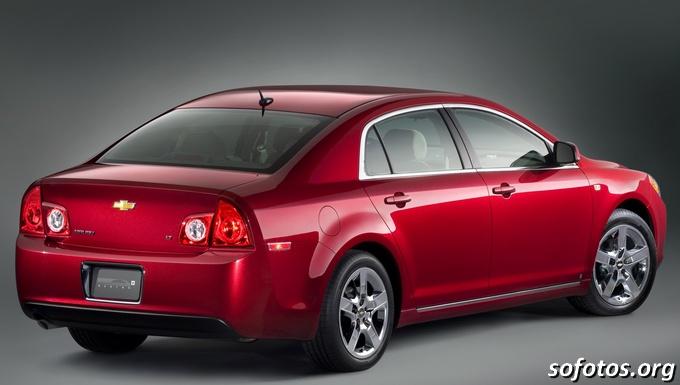 Chevrolet Malibu 2008 vermelho