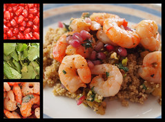 Harissa Prawns with Summer Cous Cous (Andrew Buck) Tags: