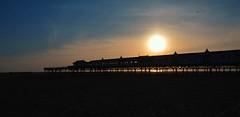 Sunset At Lytham Pier (rayraysewell) Tags: landscapes nikon piers sunsets lytham colourful digitalcameraclub d7000 mygearandme rememberthatmomentlevel1