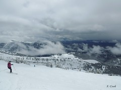 ski the ghee (stevencook) Tags: ski skiing grand 420 skiresort wyoming grandtarghee 2013 stevencook scook stevencookrealtycom 13thannualcardboardboxderby