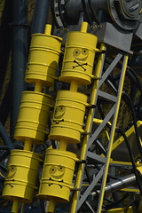 The Smiler Construction (20/4/13): Close Up of the Giggler (CoasterMadMatt) Tags: 2013 april spring season altontowers alton towers themepark amusementpark resort staffordshire staffs moors moorlands coastermadmatt photos photography photograph pictures uksno1themepark midlands great britain united kingdom england english british attraction thesmiler smiler rollercoaster roller coaster coasters xsector sector newridefor2013 worldbeatingrollercoaster worldfirstrollercoaster construction constructing erecting marketing newfor2013 new ride newrollercoaster gerstlauer sw7 secret weapon 7 secretweapon7 20thapril2013 200413 20413 update site oblivion bm divemachine dive machine area marmaliser themarmaliser themeing decoration barrels barrel thegiggler giggler