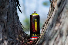 Spray Paint cans in Chicago (glenn d.) Tags: street graffiti clash spray spraypaint cans