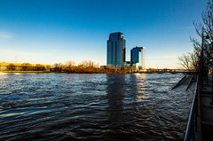 GRAND RAPIDS FLOOD 2013-1390 (RichardDemingPhotography) Tags: flooding flood michigan grandrapids grandriver grandrapidsmichigan floodwater westmichigan downtowngrandrapids puremichigan flood2013 michiganflooding grandrapidsflood