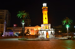 Clock Tower in Izmir (FreezeTheLife) Tags: tower clock saat konak izmir kulesi