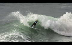 Pauline Ado (Atekaba) Tags: ocean sea mer france beach turn coast nikon surf board sigma wave cote vague plage 70200 f28 euskadi planche paysbasque atlantique aquitaine anglet cutback d7100 surfeuse