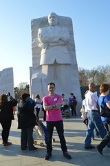 Ryan Janek Wolowski, visits the Dr. Martin Luther King, Jr. National Memorial in Washington, D.C. USA (RYANISLAND) Tags: usa history america nps dr landmark jr american change civilrights equality blackhistory martinlutherking americanhistory blackhistorymonth drmartinlutherkingjr nationalmemorial yeswecan