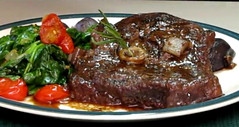 Cabernet Braised Lamb Steaks  Video Recipe (4you2eat) Tags: recipe video lamb steaks cabernet braised