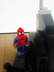 Ooooh... (Julius No) Tags: lego spiderman rhino marvel