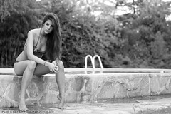 Agus - Summer book (CHELA DI DIEGO - PHOTOGRAPHER) Tags: she summer blackandwhite byn argentina beautiful portraits canon book buenosaires women retratos session beautifulgirl summerday 1dmarkiv