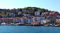 The Bosphorus (OnurAcar87) Tags: city blue sea sky history nature topf25 topv111 turkey topf50 topf75 tour topv1111 great istanbul rest topf100 bosphorus naturefinest