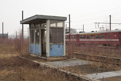 20130323 108 Montzen ATE. Disused Cabin (15038) Tags: buildings belgium trains disused railways cabins nmbs depots sidings sncb montzenate