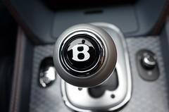 P --> D (underwhelmer) Tags: logo aluminum bentley scr lever gearshift w12 orangeflame 2013 knurled continentalgtspeed