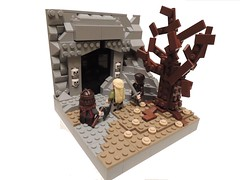 LEGO Lord of the Rings - Entrance to the Paths of the Dead (PuCCi0) Tags: google lego lotr lordoftherings aragorn tolkien gimli legolas googleimages dimholt pathsofthedead legolordoftherings legolotr tolkienlego lordoftheringsinlego thereturnofthekinglego