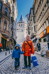 Istanbul | Galata Tower (wazari) Tags: city travel art history classic architecture photoshop vintage turkey photography ancient asia europe european place artistic ataturk minaret islam faith religion culture istanbul mosque retro photograph adobe journey dome destination historical ottoman taksim middleages secular turkish byzantine bosphorus masjid asean cultural turk sultanahmet traveler galata constantinople islamicart travelphotography galatatower stamboul travelphotographer wazari senibina wazariwazir