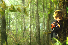 On a tree (Nanoow) Tags: trees brown sun tree forest fur soleil outfit eyes closed guitar stock yeux arbres blond blonde mao custom marron arbre brune custo fort bois feuilles feuille guitare tronc isul ferms customis bvert