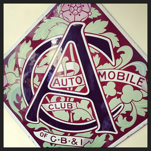 Automobile sign!