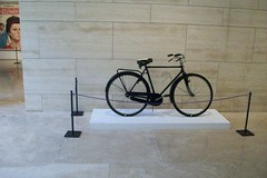 Rome: Bicycle from Bicycle Thieves by Vittorio De Sica exhibition (stuartpaterson) Tags: italy rome roma costume oscar italian italia dress roman actress actor director sophia silvioberlusconi romanempire citta moviestill sophialoren academyaward romanemperor italianstyle bicyclethieves yesterdaytodayandtomorrow marcellomastroianni italianmovie carloponti ginalollobrigida arapacismuseum ierioggidomani matrimonioallitaliana arapacismuseo giorgioneopolitano