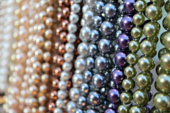 Colored Pearls (Read2me) Tags: circle colorful dof bokeh many jewelry sphere round repetition hanging shape repeat cye gamewinner friendlychallenges thechallengefactory herowinner superherochallengewinner pregamechallengewinner