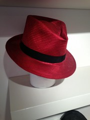 Red fedora (fortinbras) Tags: hat fedora
