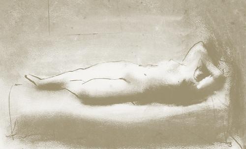 """Genealogía de las Soñantes, versiones de Lucas Cranach el Viejo (1534), Giorgione (1510), Tiziano Vecellio (1524), Nicolas Poussin (1625), Jean Auguste Ingres (1864), Amadeo Modigliani (1919), Pablo Picasso (1920), (1954), (1955), (1961). • <a style=""""font-size:0.8em;"""" href=""""http://www.flickr.com/photos/30735181@N00/8747944370/"""" target=""""_blank"""">View on Flickr</a>"""