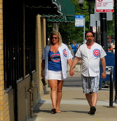 Cubs Love (Lucyrk in LA) Tags: blue boy red two people favorite woman white chicago man game sports girl outside outdoors person illinois spring team hands couple sweet outdoor may il gameday dating jersey sweeties cubs chicagocubs gapersblock chicagoland chicagotribune chicagoist oldirving