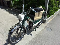 1973 Mobylette T40 Moped (Trigger's Retro Road Tests!) Tags: moped 1973 t40 mobylette