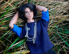 Leon (astramaore) Tags: male fashion toy dangerous model glamour francisco doll tan leon chic blackhair royalty tanned blackeyes darkhair fulllips brunet criminally fashionroyalty