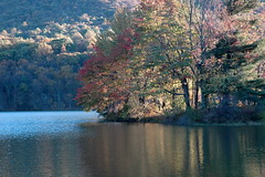 014 - Peaks of Otter (Scott Shetrone) Tags: mountains forest virginia scenery events lakes places fallfoliage 8th blueridgeparkway anniversaries peaksofotter