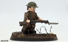 Dulce Et Decorum Est (.mclovin.) Tags: world war lego wwi great figure ww1 custom et britian dulce est minifigure decorum brickarms