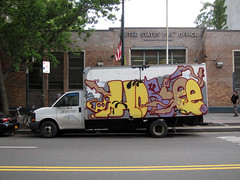 Horfee (carnagenyc) Tags: nyc newyork truck graffiti pal horfe horphe