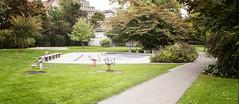 Pool (sandronimus) Tags: autumn switzerland zurich publicbath lido strandbad tiefenbrunnen zurichsee sigma50mmf14 sonya200