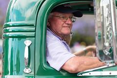 Drivers - Blanchart - Jacaranda Parade 2015 (sbyrnedotcom) Tags: 2015 people events grafton jacaranda parade rural town driver male cabin nsw australia