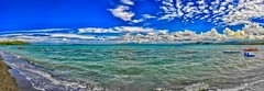 Golfo Punta Ala (giannipiras555) Tags: mare onde promontorio nuvole panorama spiaggia barche golfo toscana