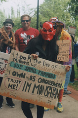 March Against MONSANTO 10, Portland 2016 (Sara J. Lynch) Tags: sara j lynch march against monsanto portland oregon protest demonstration gmo gmos chemicals signs sign