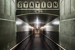 STATION (visually_conscious) Tags: station train railway symmetry street streetphotography symmetrical travel urban architecture traveling transportation
