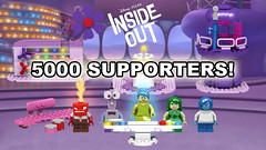 Inside Out reaches 5000! (Oky - Space Ranger) Tags: lego ideas disney pixar inside out headquarters emotions joy sadness disgust fear anger milestone