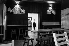 A WAITRESS. INVISIBLE (kristina ryumina) Tags: modern kristinaryumina nikon nikond7100 photography prague europe czechrepublic art documentaryphotography russianphotographer beauty beautiful cukrkavalimonada waitress cafe chairs tables