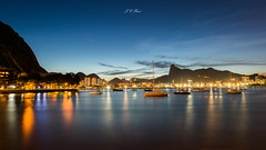 Good dreams (Jos Eduardo Nucci) Tags: southamerica landscape longexposure nikon nikkor nightscape guanabarabay brazil beautiful colors photography joseduardonucci mood bluesky bluehour boats riodejaneiro olympicgames rio450anos getty explore arpoador beach lights corcovado christ redeemer sugarloaf copacabana d800 1424mm seascape shadows travel urcabeach natureza praiadebotafogo favorite flickr reflection tide rj cariocas paisagem leblon paradise fantastic picture instagram shots atmosphere harmony tropical night season world wonderfulcity tour trip cassino cityscape mountains marvelouscity yellow dark water outdoor serenity time life