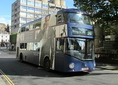 LT98, Kensington Mall, London, 23/04/16 (aecregent) Tags: londonbuses2016 london 230416 kensingtonmall comfortdelgro newroutemaster newbusforlondon borismaster nbfl nb4l hybrid wright lt metroline lt98 ltz1098 390 tommyhilfiger