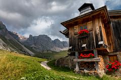 Passo San Pellegrino, Moena - Trentino (glank27) Tags: passo san pellegrino trekking moena italy trentino canon eos 70d mountains dolomites nature landscape efs 1585mm f3556 karl glanville