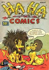 Ha Ha 11 (Michael Vance1) Tags: art artist anthology comics comicbooks cartoonist funnyanimals fantasy funny goldenage humor