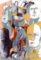 Berlin 2015 (JENS01) Tags: zeichnung kohle papier bleistift drawing sketching painting malerei skizze sketchbook art kunst graphite pencildrawing paperwork urban doodle l oil tusche portrait