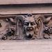 Horned Satyr Face Gargoyle 4175