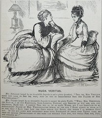 Nuda Veritas! -  Punch 1873 (AndyBrii) Tags: punch 1973 wit satire woodcuts engravings