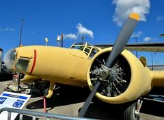 Avro Anson V, Canadian Warplane Heritage Museum, Hamilton, ON (Snuffy) Tags: canadianwarplaneheritagemuseum mounthope hamilton ontario canada autofocus avroansonv
