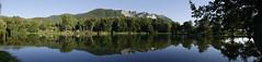 Bélapátfalva (un2112) Tags: panorama lake bélapátfalva belapatfalva hungary landscape august summer hill reflection nature panasonicg7