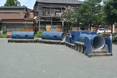 ise173 (tanayan) Tags: road street alley mie ise japan nikon j1 kawasaki     park play equipment