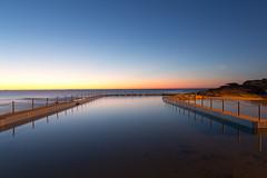 South Curl Curl Sunrise (Tom Beecroft) Tags: sunrise blue bluehour dawn curlcurl australia newsouthwales rockpool longexposure landscape clear