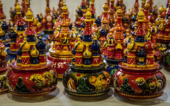 2016 - Baltic Cruise - St. Petersburg - Matryoshkas (Ted's photos - Returns Mid May) Tags: 2016 cropped tedmcgrath tedsphotos vignetting russia ussr stpetersburg souvenirs colorful russiannestingdoll matryoshkas