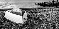Done For The Day (Sean Batten) Tags: whitstable england unitedkingdom gb beach boat pebbles sea kent nikon df 35mm rope